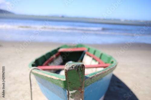 Fototapeta barco na areia