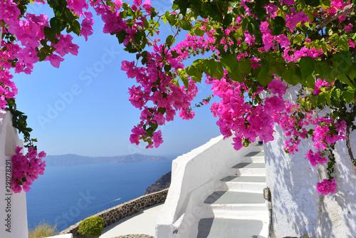 Fototapeta premium Santorini, Grecja