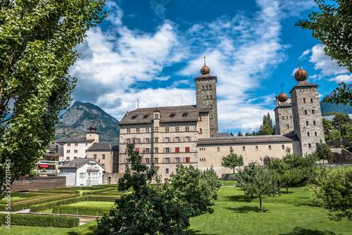 Canvas-taulu Brig, Brig-Glis, Suiza