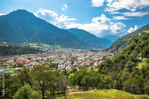 Valokuvatapetti Brig, Brig-Glis, Suiza