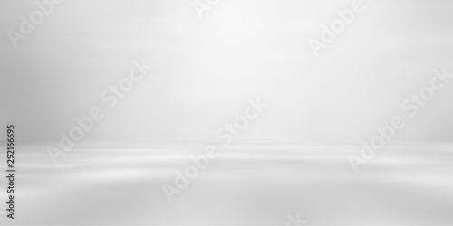 Fotografía grey empty room studio gradient used for background and display your product