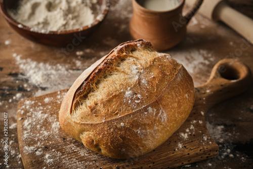 Fotografia Freshly baked traditional bread