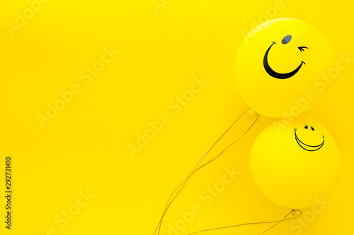 Canvastavla Happiness emotion