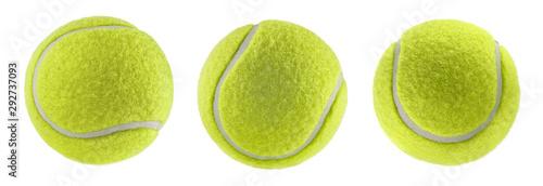 Fotografija tennis ball isolated white background - photography