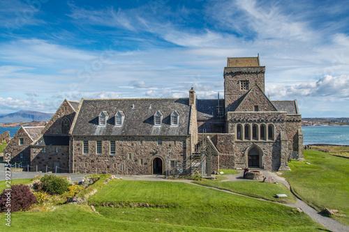 Iona Abbey of The isle of Iona, Scotland Fototapeta