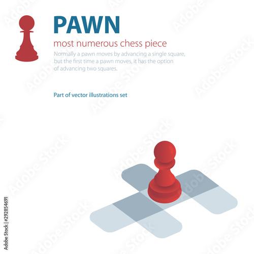 Pawn Fototapet
