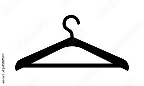 Fotografia wieszak na ubrania ikona