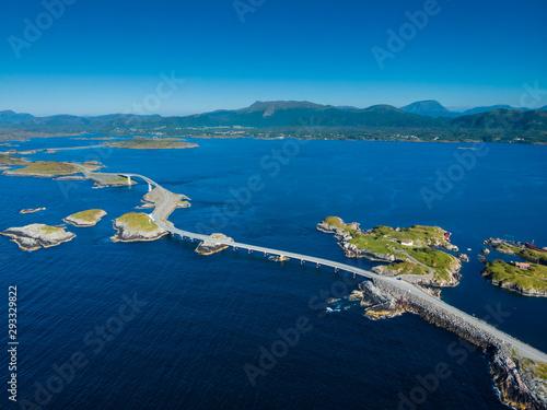 The Atlantic Road in Norway Fotobehang