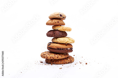 Fotografia cookies baking sweet dessert
