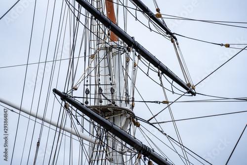 Cutty Sark is a British clipper ship Fototapeta