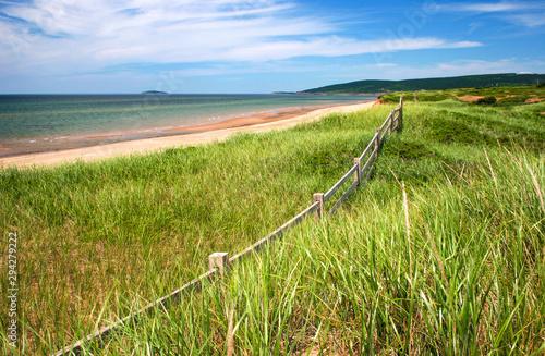 Canvas Print Cape Breton Island Nova Scotia beach