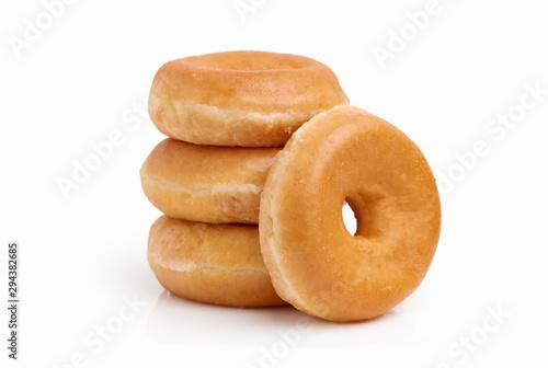Group of sugar donuts Fototapet