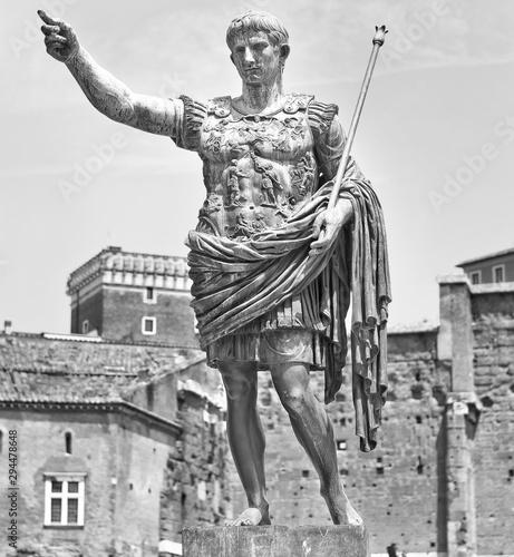 Augustus: the roman emperor Fototapeta