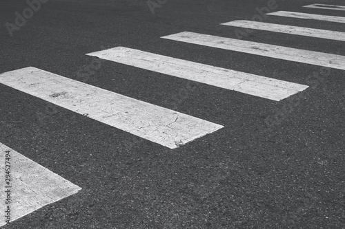 Carta da parati crosswalk mark on asphalt street