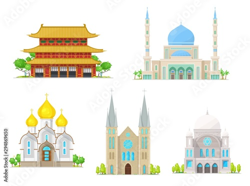 Church, pagoda, temple, cathedral and mosque