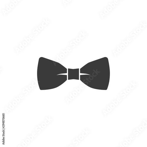 Obraz na płótnie vector bow tie icon on white background