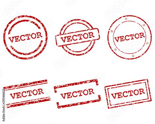 Valokuvatapetti Vector Stempel
