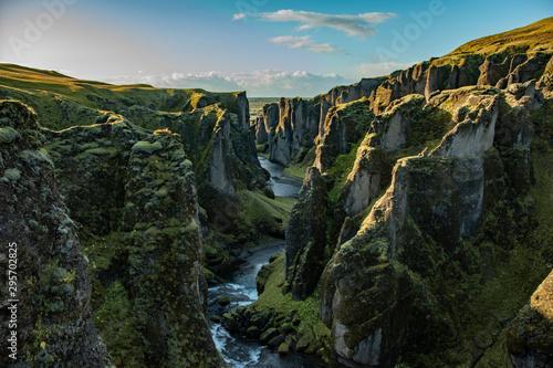 Fotografia Fjaðrárgljúfur