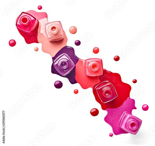 nail polish finger make up beauty cosmetic Fototapet