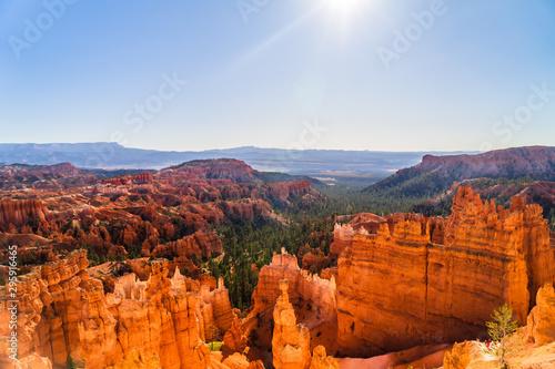 Billede på lærred Beautiful Bryce Canyon in Utah USA