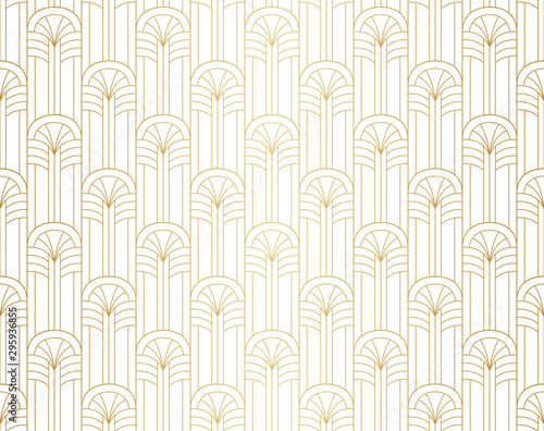 Fototapeta Vector Art Deco Pattern