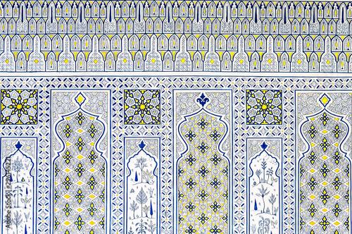 Wallpaper Mural Islamic geometrical mosaic pattern