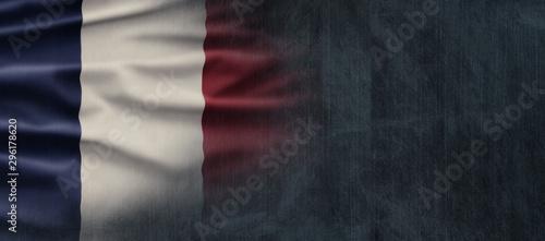 Obraz na plátně France National Holiday