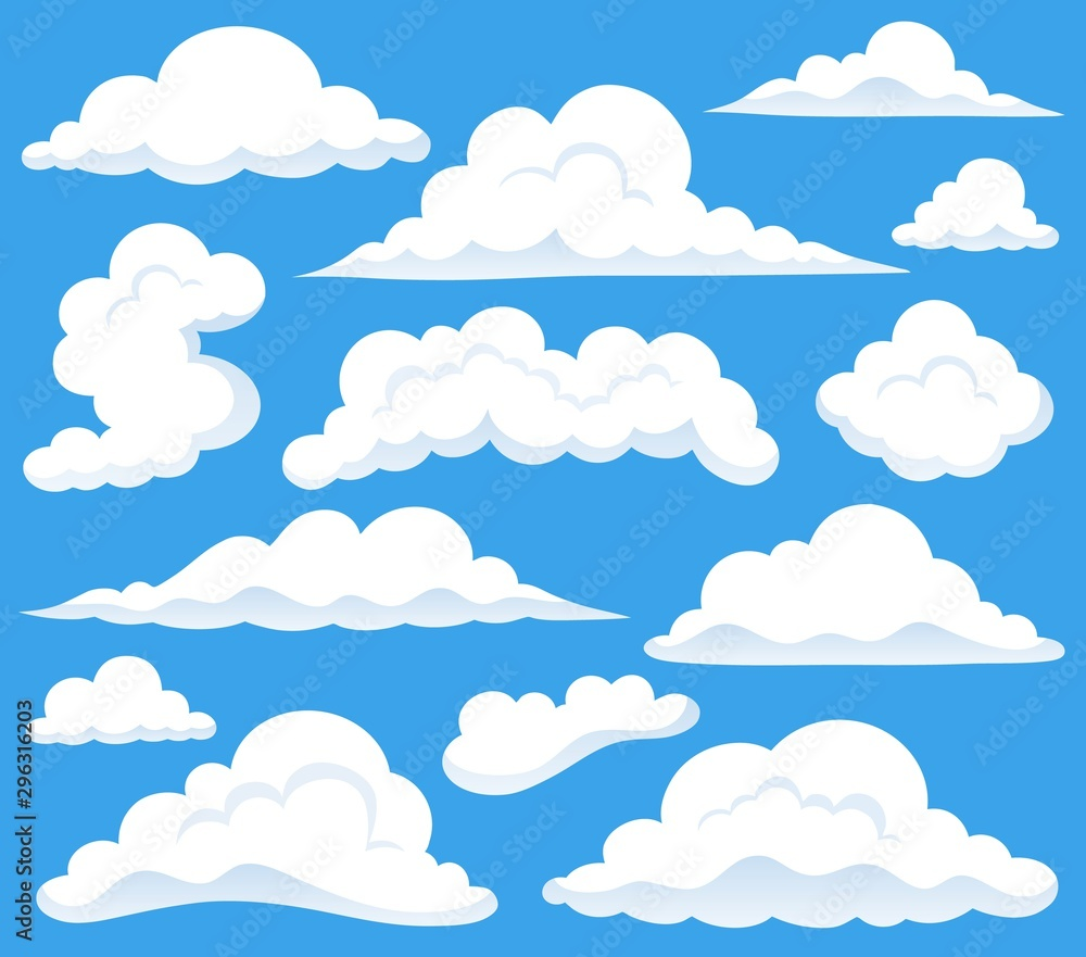 Obraz tematu chmur 1 <span>plik: #296316203   autor: Klara Viskova</span>