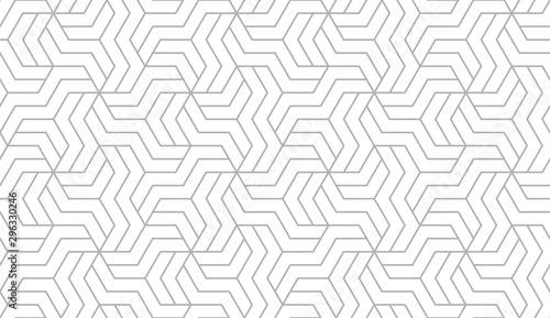 Plakat Abstrakcyjny wzór geometryczny z paskami