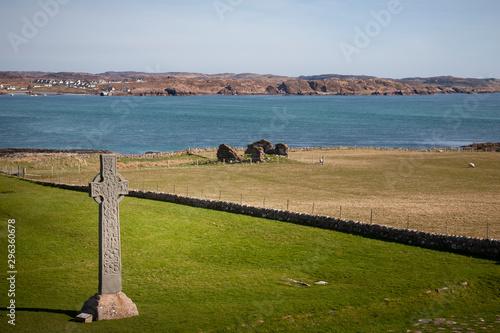 Fotografia, Obraz celtic cross on iona