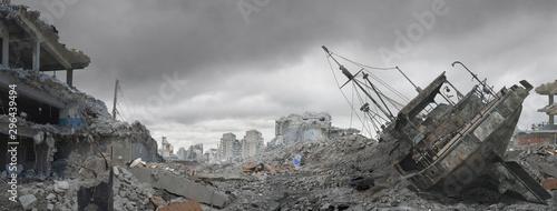 Valokuva Disaster Landscape