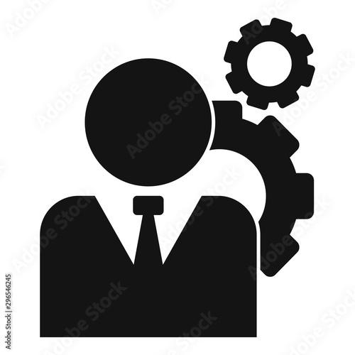 Fotografia Administrator system icon
