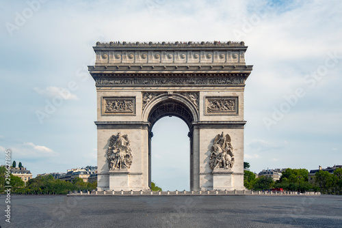 Canvas-taulu The arch of triumph