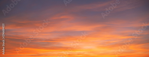 Fotografía Sunset sky