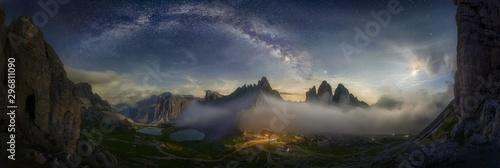 Beautiful panoramic shot of...