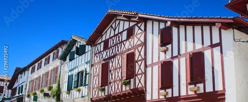 Fotografie, Tablou La Bastide Clairence (Pays Basque - France)