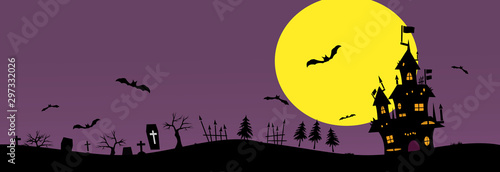 Photo Halloween background material