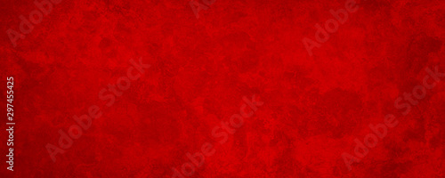 Fotografie, Tablou Rich red background texture,  marbled stone or rock textured banner with elegant