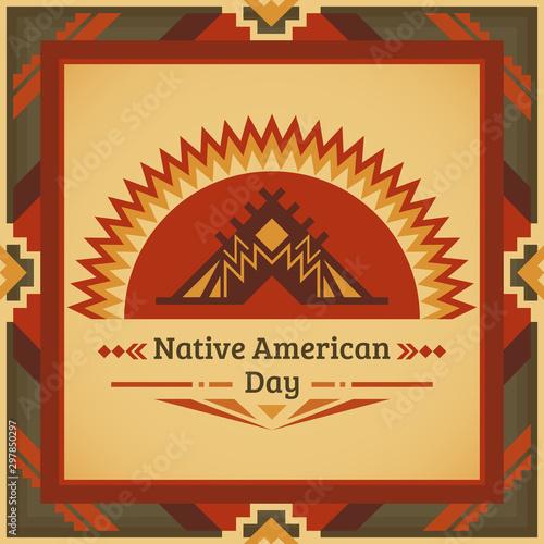 Fototapeta Native American Heritage Day
