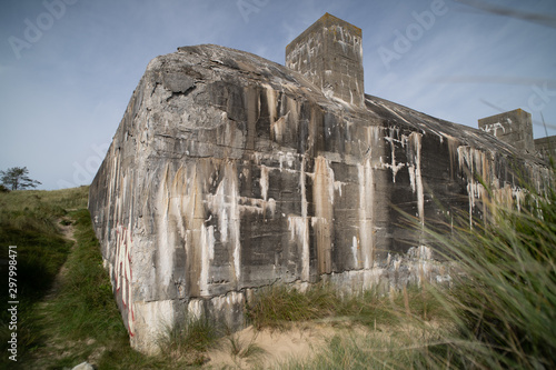 Canvas Print Tirpitz Bunker