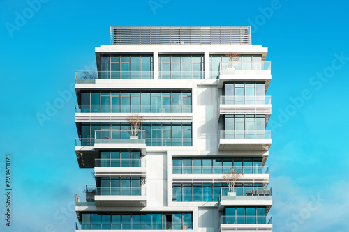 Tela modern apartment building - real estate exterior