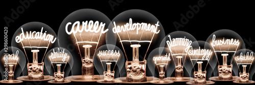 Light Bulb Concept Poster Mural XXL
