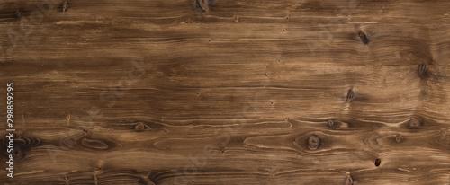 Vászonkép Brown smooth wood surface