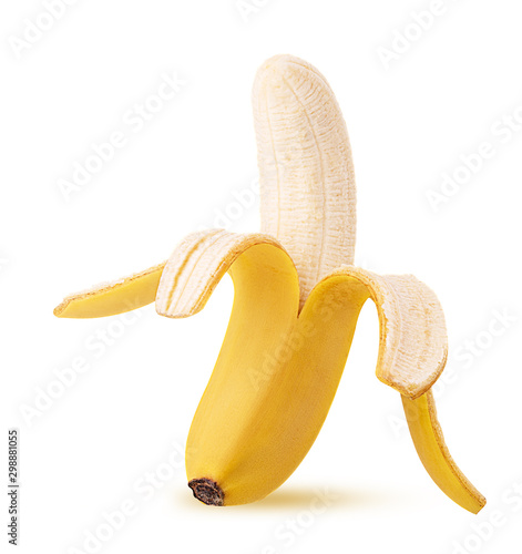 Fotomural Peeled banana