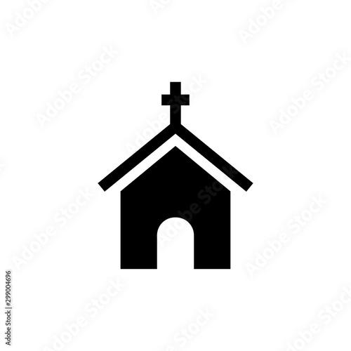 Valokuva Church building icon