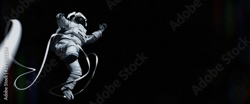 Fotografering astronaut in outer space