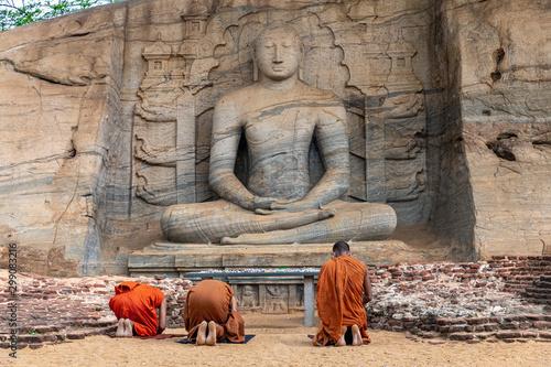 Canvas Print Polonnaruwa