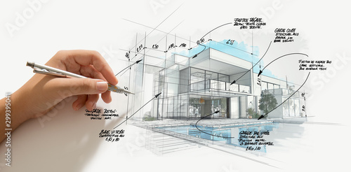 Modern high end architecture project evolution