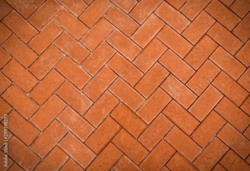 Canvas Print vintage pavement texture