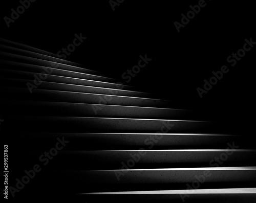 Black background Fototapeta